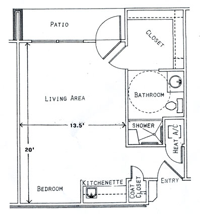 Floor plans dogwood creek assisted living center for 380 square feet floor plan